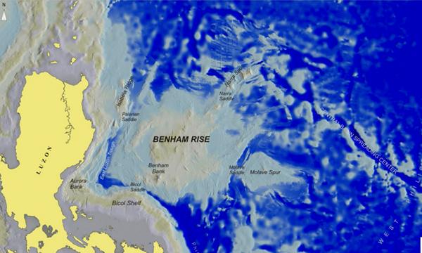 Benham Rise, Duterte apre all'esplorazione cinese la costa orientale Filippina
