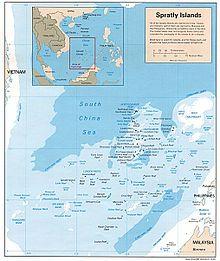 mappa cinese summit dell'ASEAN
