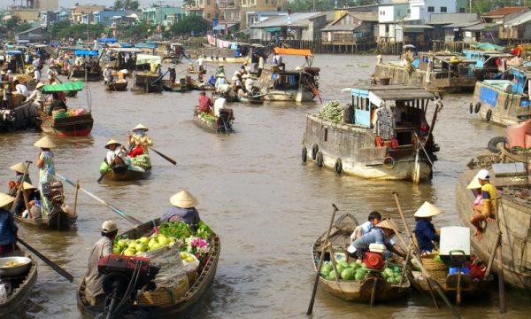 Dopo la storica siccità dello scorso anno, nel Delta del Fiume Mekong