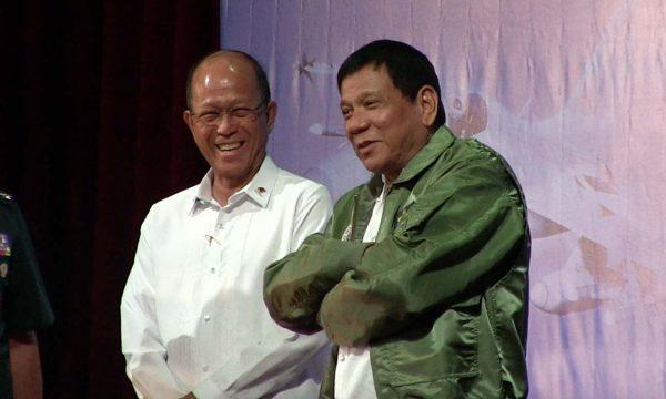 Inversione di marcia delle Filippine sul patto di difesa VFA con gli USA