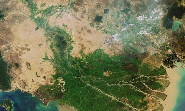 Il Delta del Mekong sprofonda