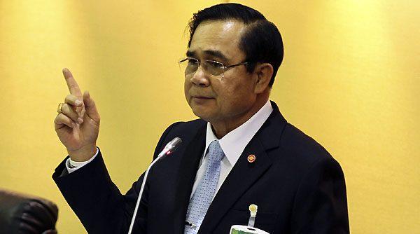 I colloqui della felicità del generale Prayuth nel profondo meridione thailandese