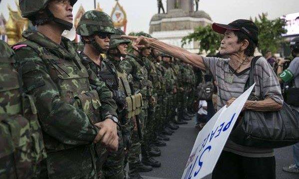 Una nuova sceneggiatura per i golpe in Thailandia