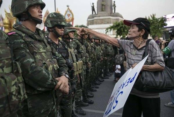 paura detenzione arbitraria golpe scenggiatura per il golpe