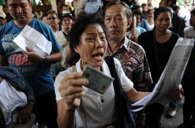 la Thailandia non si allontana dal prcipizio
