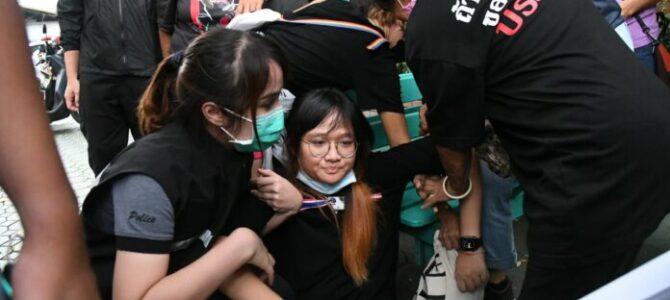 Triangolo di Din Daeng a Bangkok e i sogni della gioventù thailandese
