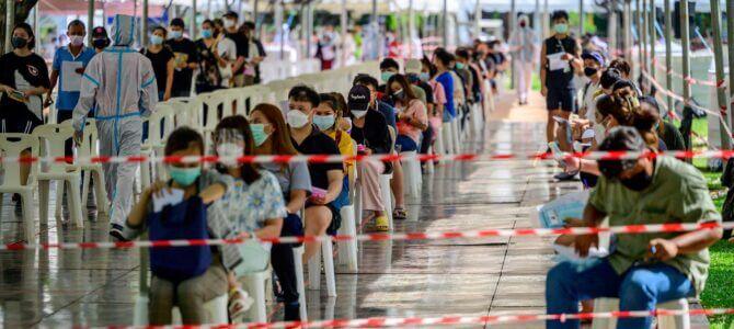 Terza ondata di covid-19 in Thailandia ed accada quel che accada