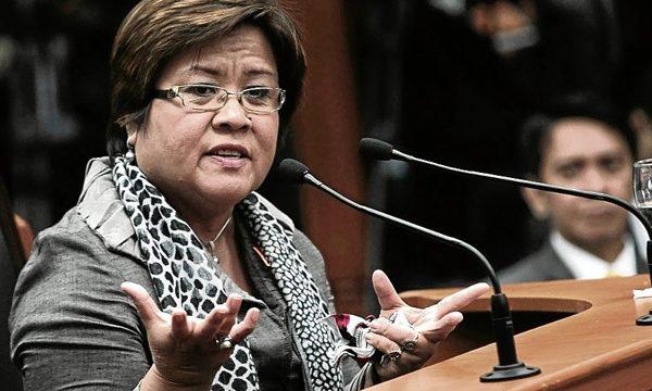 Organizzazioni dei diritti umani sull'arresto arbitrario della Senatrice De Lima