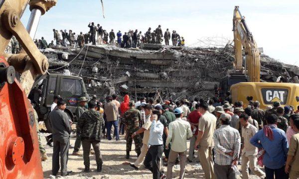 Kep, Cambogia morti 36 lavoratori nel crollo di palazzina in costruzione