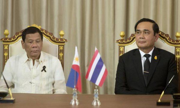Rodrigo Duterte e Prayuth Chanochoa, due gocce d'acqua nell'ASEAN