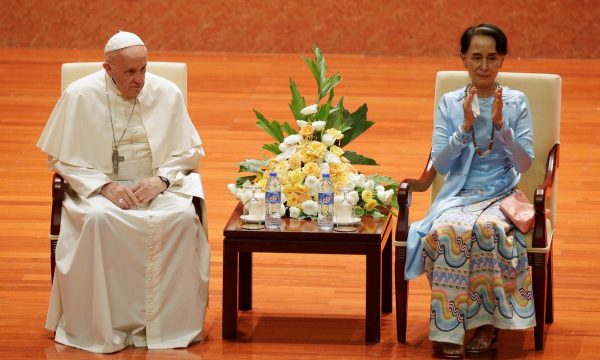 Papa Francesco in Birmania ed il rispetto dei diritti di chi chiama patria quella terra