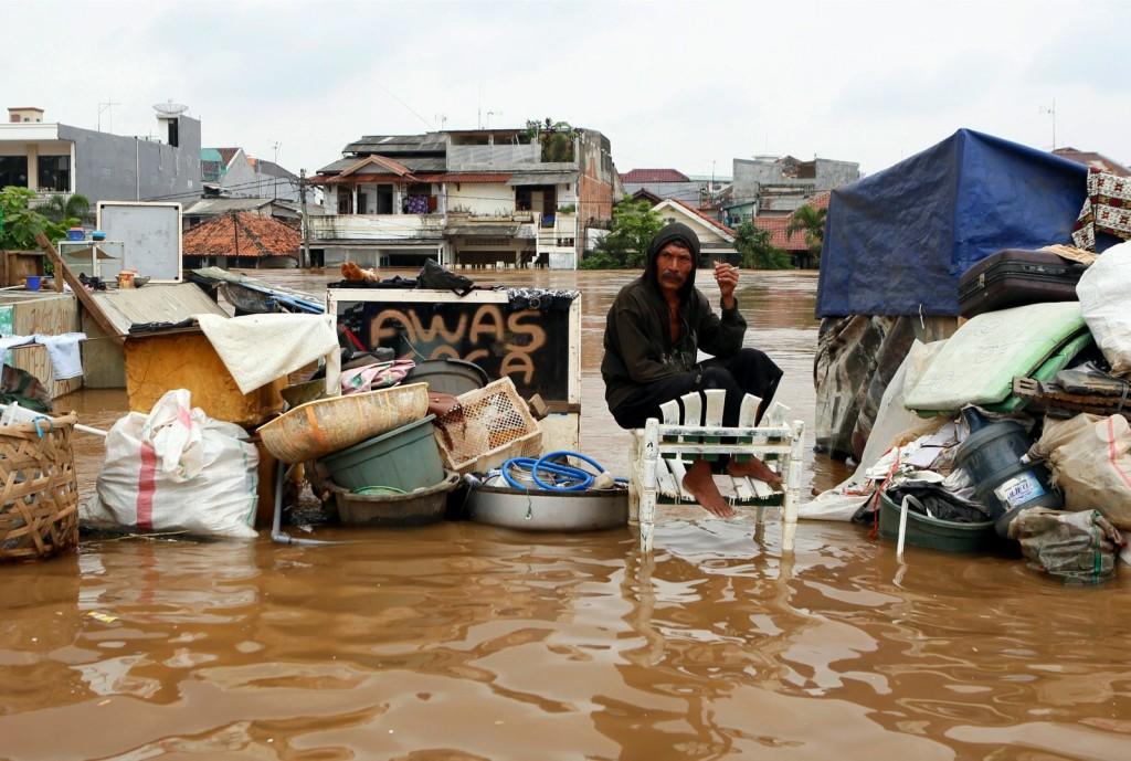 giacarta alluvionata