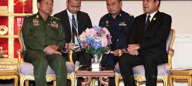 Il modello di pseudo democrazia in Thailandia per il Myanmar