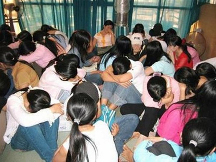 donne vendute al traffico umano