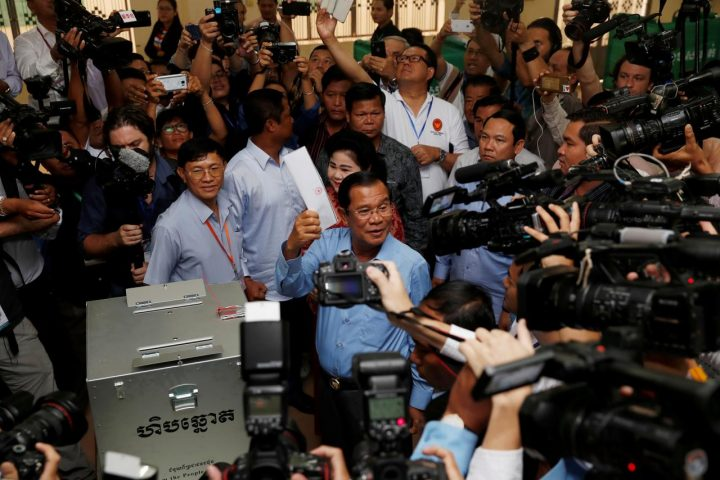 COVID-19 in Cambogia