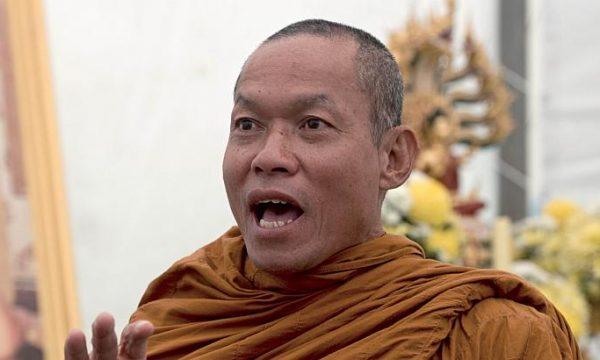 Il discorso di odio di un riverito monaco thai
