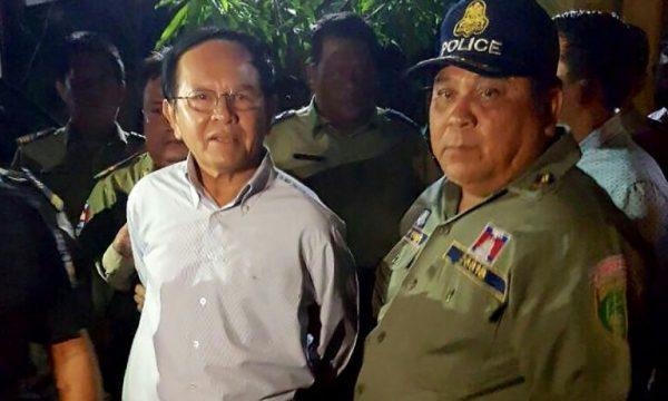 Capo opposizione cambogiana detenuto senza processo da 19 mesi