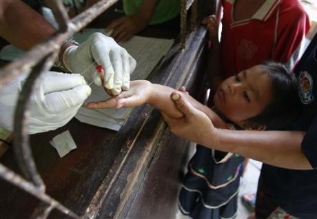 diffusione della malaria