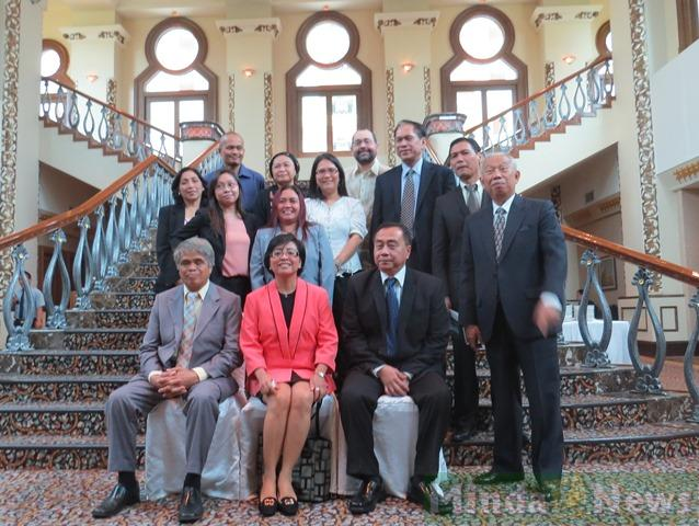 sigla processo di pace di Mindanao