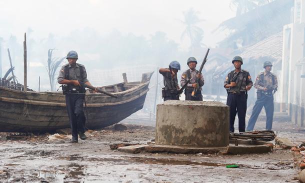 police_rohingya