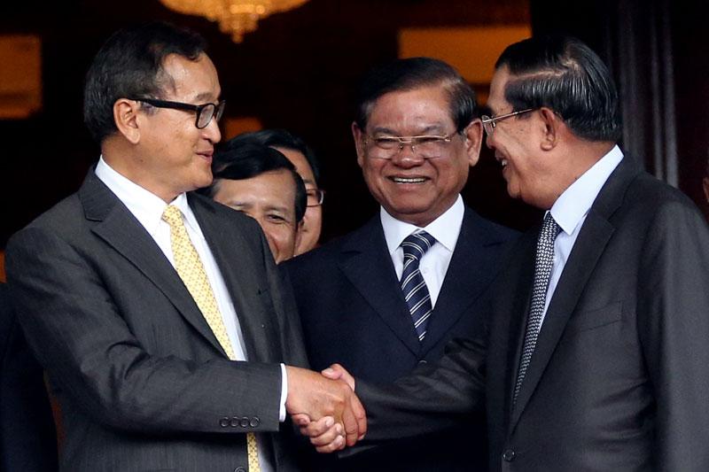 rainsy Hun Sen