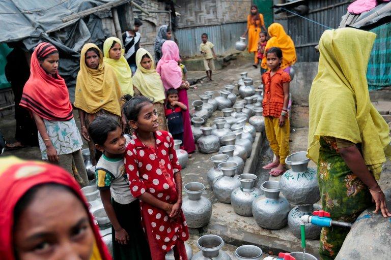 Ricordo quotidiano dell'orrore subito dalle donne Rohingya