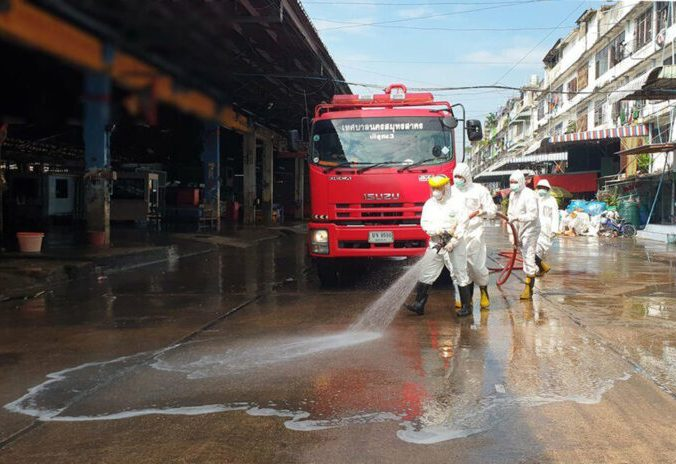 samut sakhon market