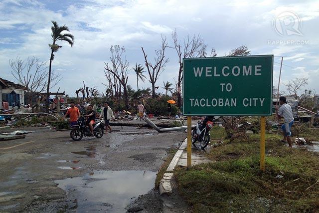 cambiamento climatico dopo il tifone yolanda