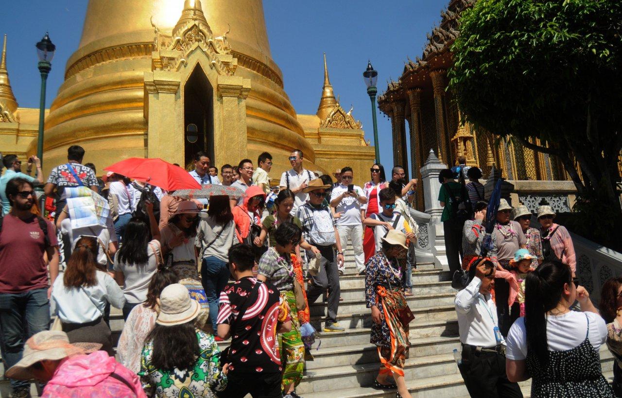 turisti cinesi Thailandia