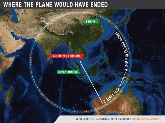 la vicenda del volo mh370